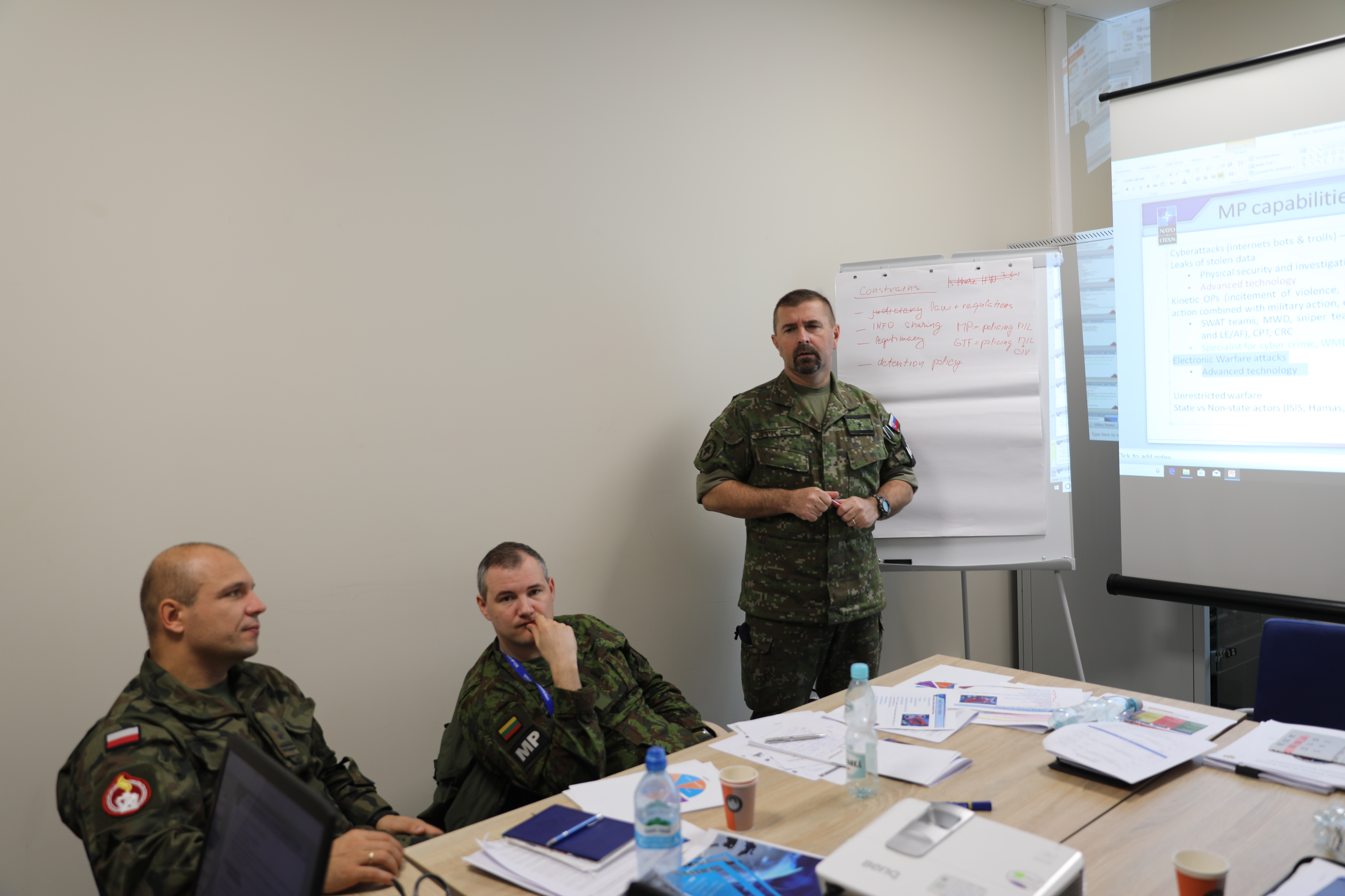 Military Police Doctrine and Standardization Forum 2018